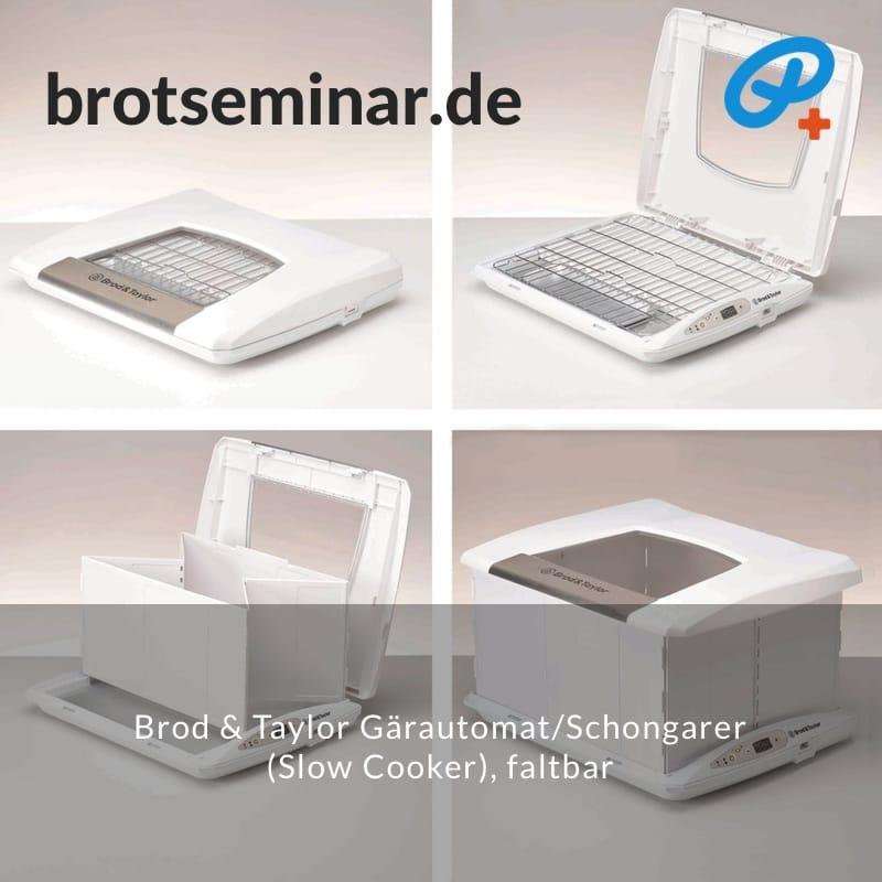 "brotseminar.de: ""Slow Cooker"" selbst basteln mit deinem Lieblings-Topf + dem Brod & Taylor Gärautomat + Schongarer, faltbar.  Das geht einfach!"