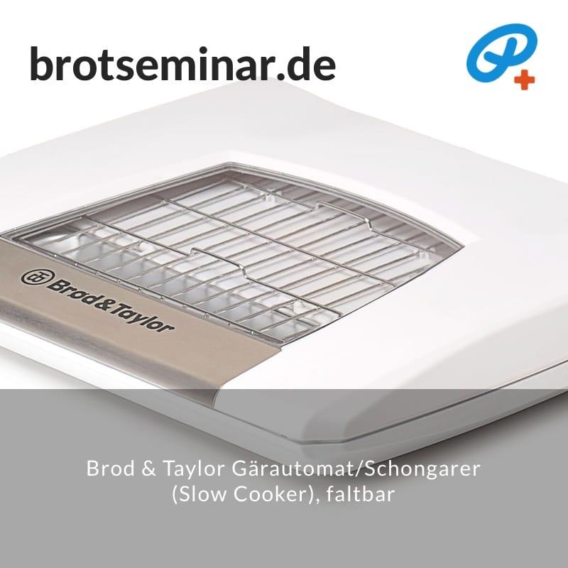 Brod & Taylor Gärautomat + Schongarer (Slow Cooker), faltbar ...