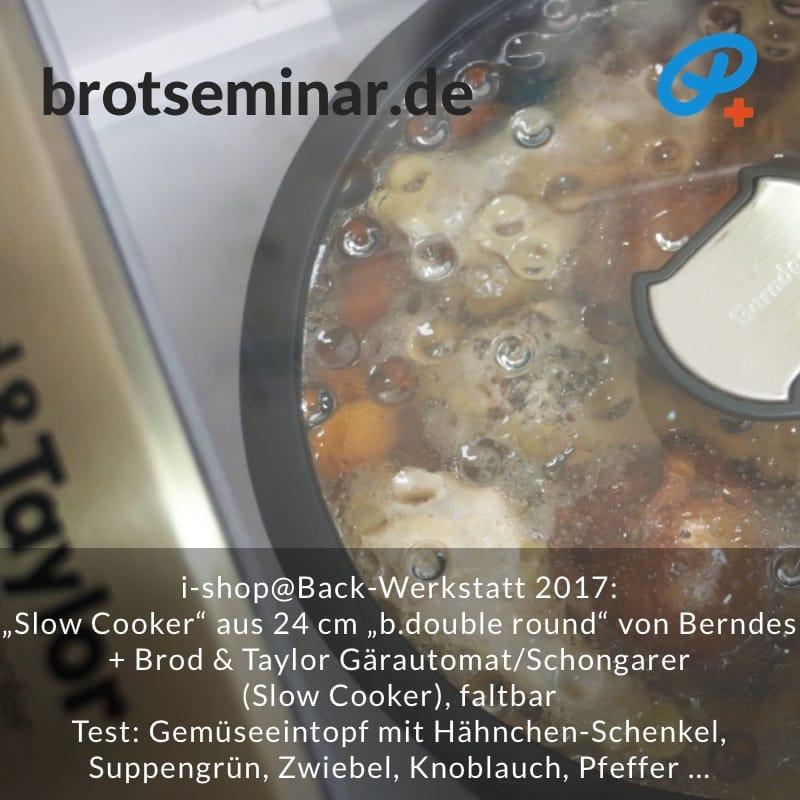 """brotseminar.de: """"Slow Cooker"""" selbst basteln mit deinem Lieblings-Topf + dem Brod & Taylor Gärautomat + Schongarer, faltbar.  Mit jedem Topf bis 24 cm Durchmesser + passendem Deckel. Jedes Topf-Material ist geeignet."""