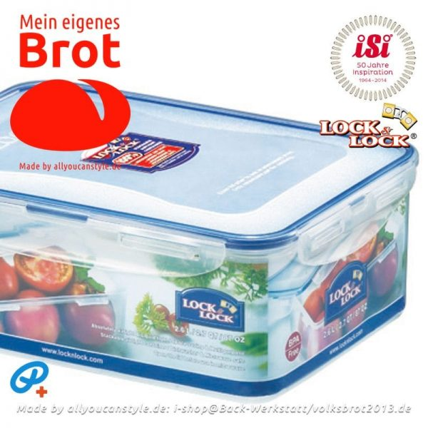 1 Brot-Teig-Container