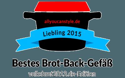 "WOLL-Topf LOGIC war einmal ""Deutschlands bester Brot-Back-Topf"""