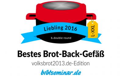 """Berndes """"b.double round"""" ist das neue Brot-Back-Gefäß für die Brot-Größen XL + XXL"""