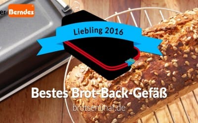 Das Brot-Kastenform-Set von Berndes ist der Liebling 2016 von brotseminar.de