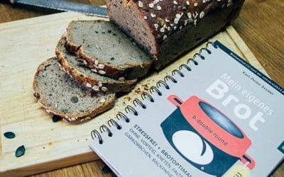 """Leckeres """"Ohne-Kneten-Brot"""" von 11-jährigem Mädchen zu 100 % selbst hergestellt"""