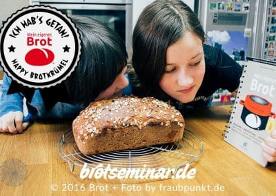 Knusper-leckeres Glückskinder-Lieblings-Brot: Das war kinderleicht! — Oder?