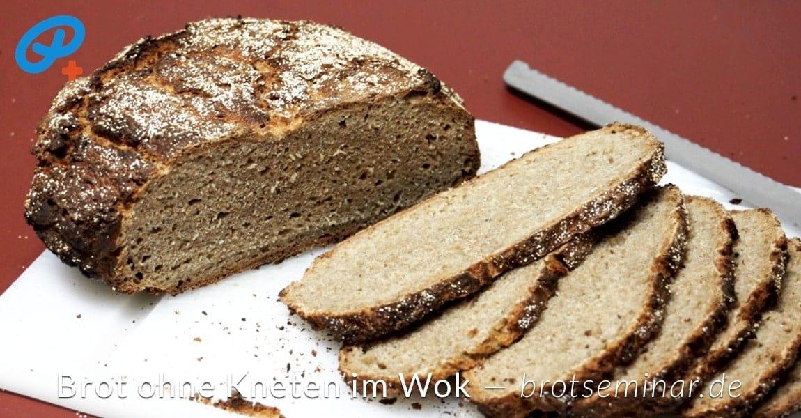 brot ohne kneten im wok gebackent 03