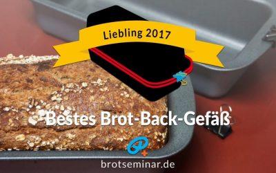 """Neu: """"Brot-Kastenform-Set 2017"""" von brotseminar.de + drei (3) moderne Dinkel-Brot-Backmischungen von Aldi"""
