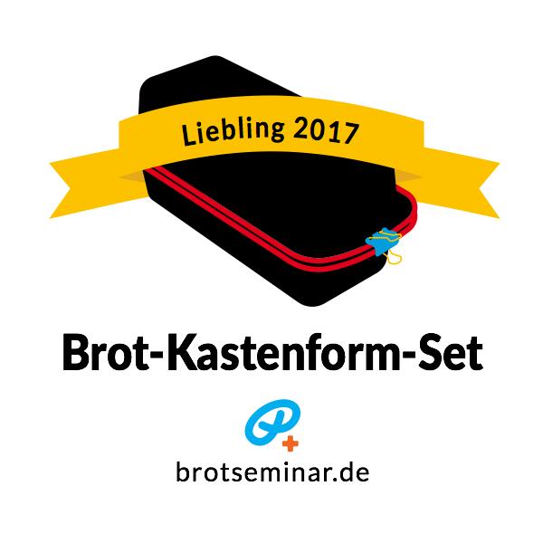 """Brot-Kastenform-Set 2017 für selbstgemachte """"Ohne-Kneten-Spezialitäten"""" von brotseminar.de"""