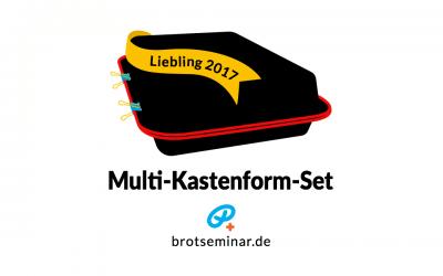 """NEU: """"Multi-Kastenform-Set 2017"""" von brotseminar.de + ein saftiger """"Leberkäs-Burger"""" mit hausgemachtem Vollkornbrötchen"""
