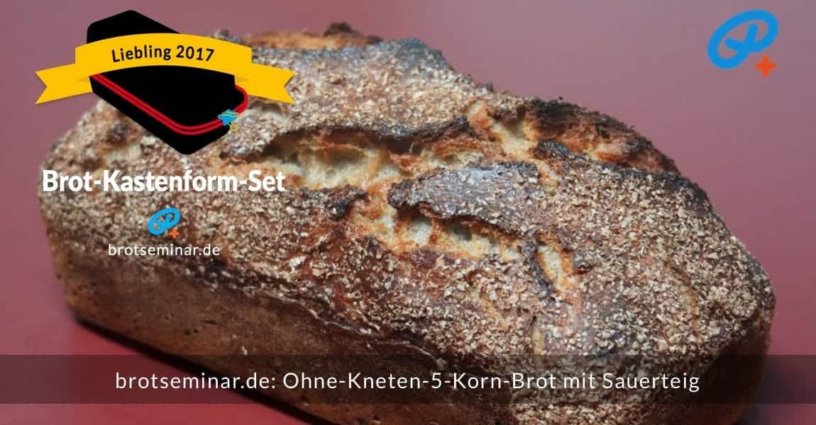 brotseminar.de: Dieses 5-Korn-Brot mit Sauerteig wurde im Brot-Kastenform-Set 2017 brotoptimal gebacken. Dieses Brot gibt es nirgendwo zu kaufen. Das frische Brotmehl — für genau dieses Brot — gibt es immer mühlenfrisch bei der Adler Mühle Bahlingen via Direktversand aus dem Online-Store der Webseite.