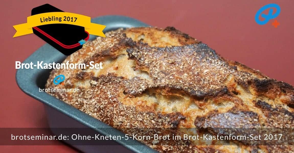 brotseminar.de: Dieses 5-Korn-Brot mit Sauerteig wurde im Brot-Kastenform-Set 2017 brotoptimal gebacken. Der Ur-Geschmack des frischen Brotmehls von der Adler Mühle Bahlingen, wurde zusätzlich durch die Langzeit-Gär-Methode # 03 (im Kühlschrank) unterstützt. Immer ohne Kneten nach der volksbrot2013.de-Methode von brotseminar.de + mit Freude am einfachen selbst Herstellen von hochwertigem Brot.