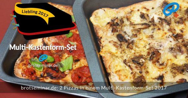 2 pizzas kastenformset titel
