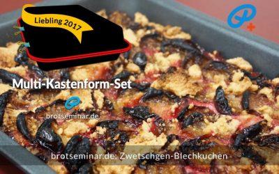Zwetschgen-Blechkuchen mit Ohne-Kneten-Hefeteigboden