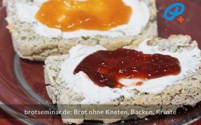 Brot ohne Kneten, ohne Backen + ohne Kruste