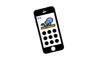 Neu: Mobil telefonieren mit dem HOF FRISÖR in Frankfurt