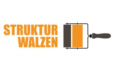 Musterwalze hilft gegen Kritzeleien an der HOF FRISÖR-Ladenfassade