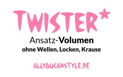Twister-Ansatz-VOLUMEN ist ein neuer Haar-Service vom HOF FRISÖR