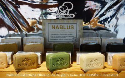 NEU: NABLUS natürliche Olivenöl-Seifen aus Palästina — frisch im HOF FRISÖR-Sortiment erhältlich