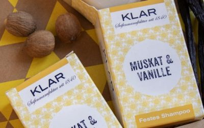 Festes Shampoo von KLAR ist für alle Haarlängen und Haartypen geeignet