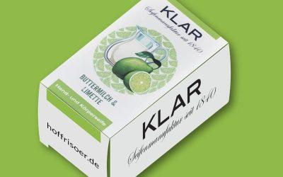 Neue Hand- und Körperseife von KLAR: BUTTERMILCH & LIMETTE