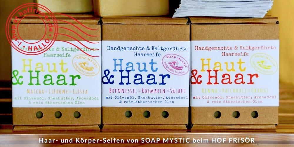 © allyoucanstyle.de Juni 2019 by khs: Haar- und Körper-Seifen von SOAP MYSTIC Naturseifen aus Karlsruhe beim HOF FRISÖR in FRANKFURT erhältlich …
