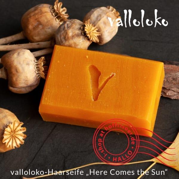 """valloloko-Haarseife """"Here Comes the Sun"""" für leidenschaftliche Mitmenschen (Bild: valloloko.de)"""