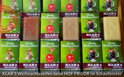 Drei Weihnachts-Seifen von KLAR