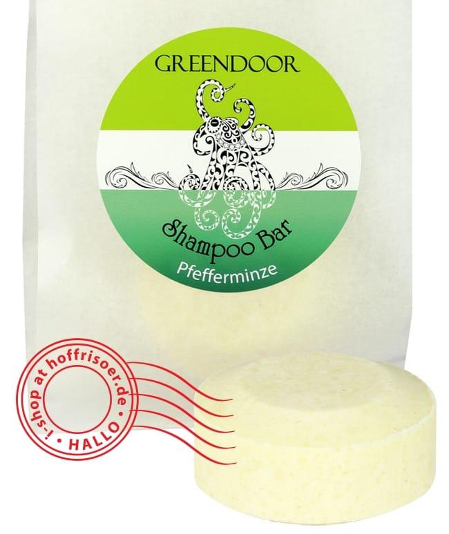 """GREENDOOR Shampoo Bar """"Pfefferminze"""": Haare waschen ohne Plastikmüll …"""
