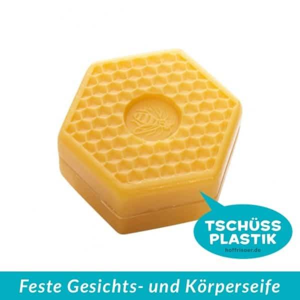 SPEICK Naturkosmetik: Feste Gesichts- und Körper-Seife, Honig Pflanzenöl-Seife Wabenform, vegan, plastikfrei und unverpackt