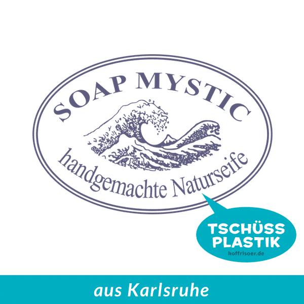 SOAP MYSTIC Naturseifen Karlsruhe ist immer frisch, plastikfrei und handgerührt beim HOF FRISÖR in Frankfurt am Main erhältlich