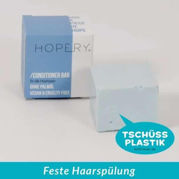 HOF FRISÖR Frankfurt am Main: Festes Haarspülung-Stück ORANGE BLOSSOM von HOPERY