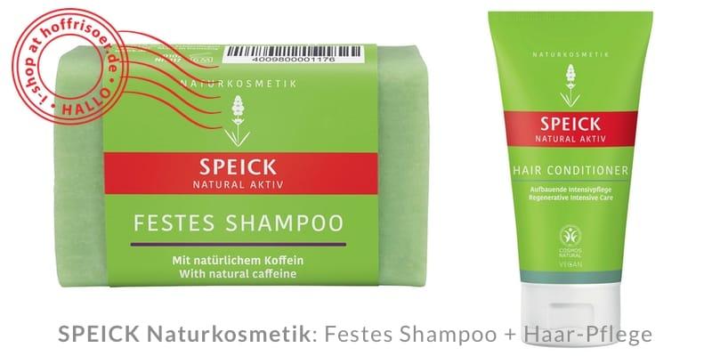 © 2021 hoffrisoer.de: Festes Shampoo von SPEICK und die universelle Haar-Pflege in der Tube dazu …