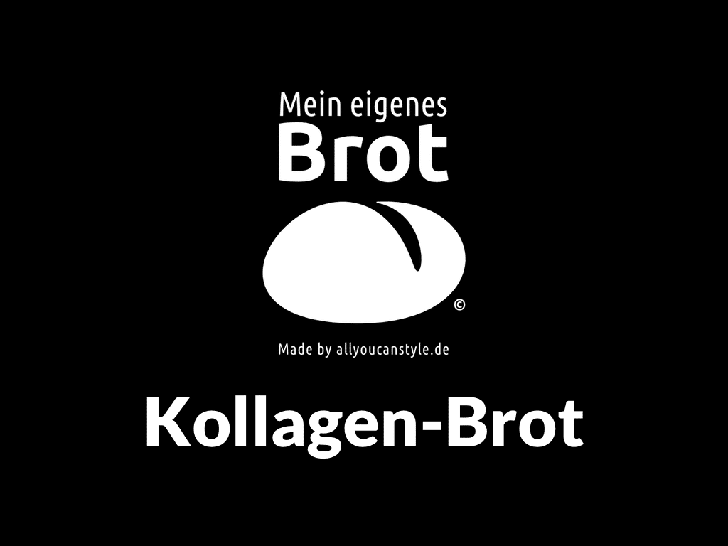 Kollagen-Brot: Ohne-Kneten-Vollkornbrot mit Kollagen aus Knochen-Brühe vom Bio-Rind …