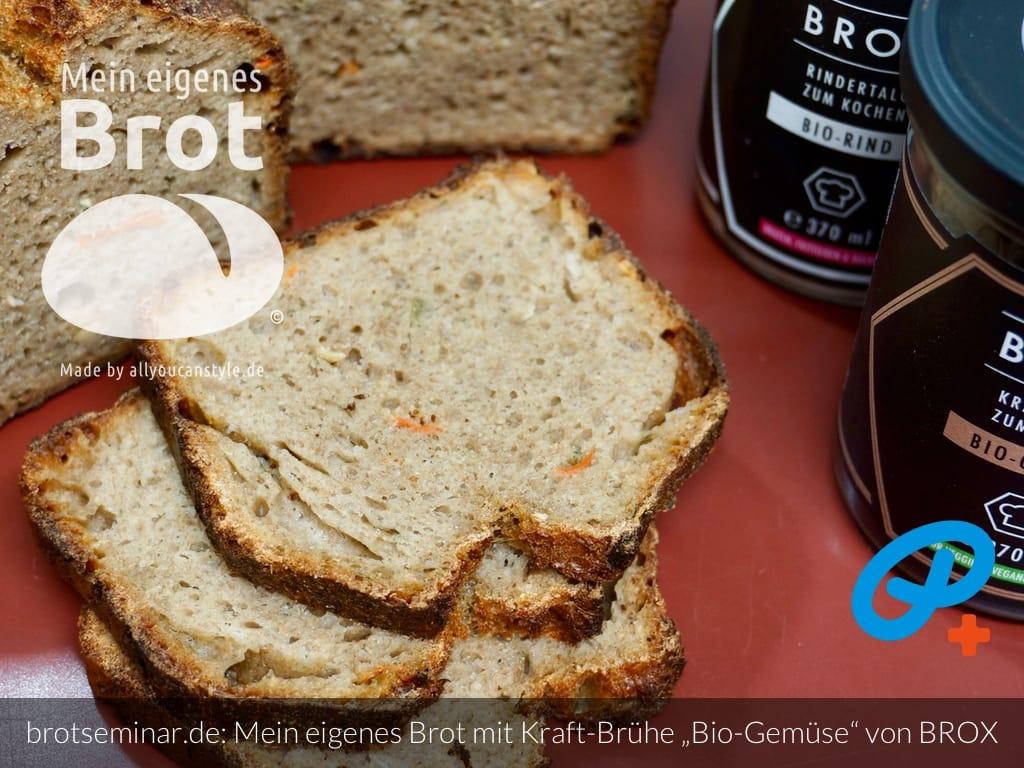 """© 2021 by brotseminar.de: Mein eigenes Brot mit Bio-Kraftbrühe """"Gemüse"""" + Bio-Kollagen-Pulver + Bio-Rindertalg von BROX"""