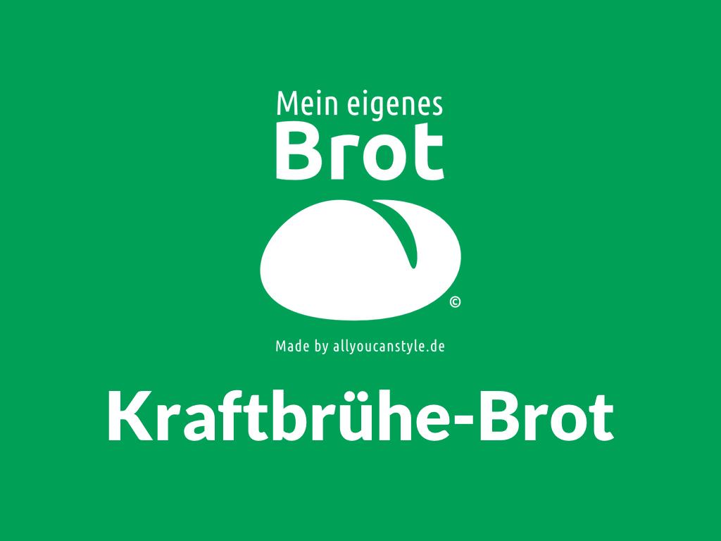 Kraftbrühe-Brot Bodybuilder-Brot mit Kollagen: Heute gibt es zwei (2) eigene Dinkel-Vollkorn-Brote mit unterschiedlichen Bio-Kraft-Brühen von BROX darin …